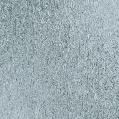 Amtico Advanced Silver Matte Metal 12 x 12 Silver-Matte Metal Vinyl Flooring