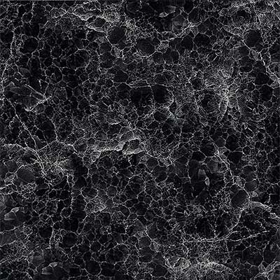 Amtico Florentine Marble 12 x 12 Florentine Marble Black Vinyl Flooring