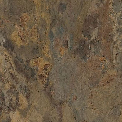Armstrong Earthcuts 12 x 12 Haven Stone Rust Brown Vinyl Flooring