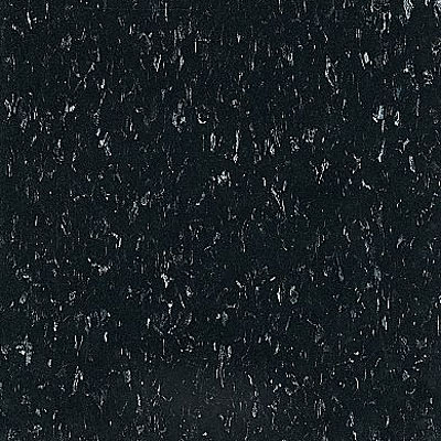 Armstrong Commercial Tile - Imperial Texture Classic Black (Sample) Vinyl Flooring