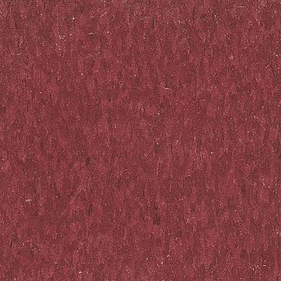 Armstrong Commercial Tile - Imperial Texture Pomegranate Red (Sample) Vinyl Flooring