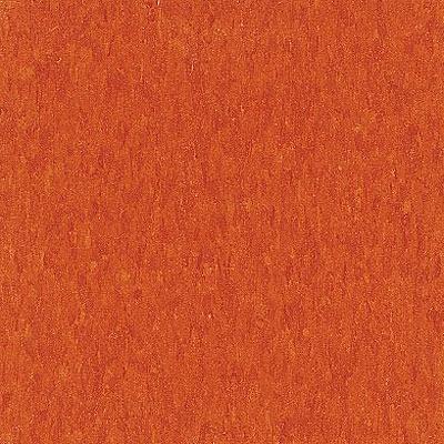 Armstrong Commercial Tile - Imperial Texture Pumpkin Orange (Sample) Vinyl Flooring