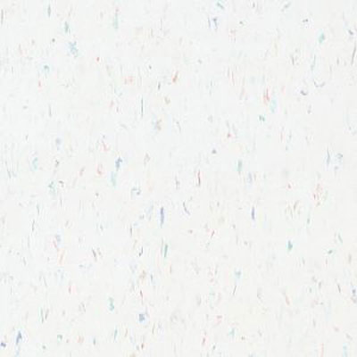 Armstrong Commercial Tile - Multicolor Excelon Carnival White (Sample) Vinyl Flooring