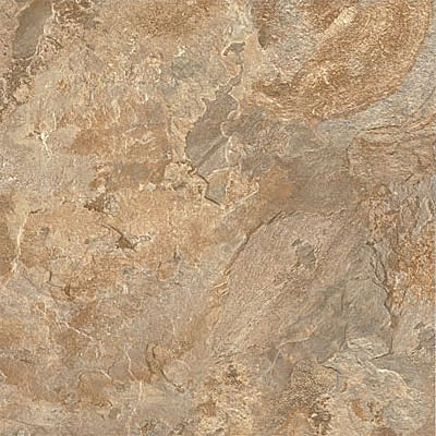Armstrong Alterna Mesa Stone Tile Terracotta Clay (Sample) Vinyl Flooring