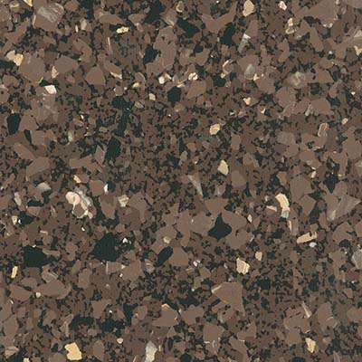 Azrock VET Azterra - Vinyl Enhanced Tile Brown Earth Vinyl Flooring