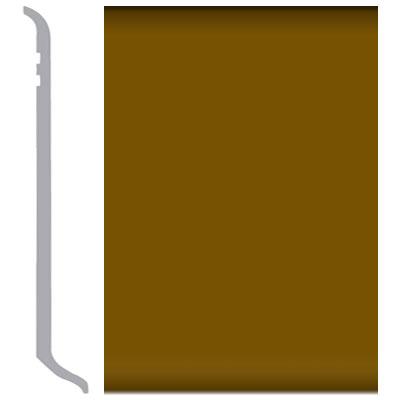 Burke Mercer Vinyl Wall Base Type TV 1/8 Cove Base 4 Basic Brown 200 Vinyl Flooring