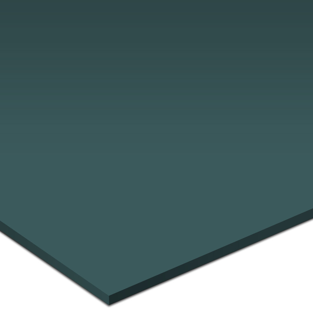 Burke Solid Color Rouleau Round 20 x 20 Vulcanized Rubber Dark Forest Rubber Flooring
