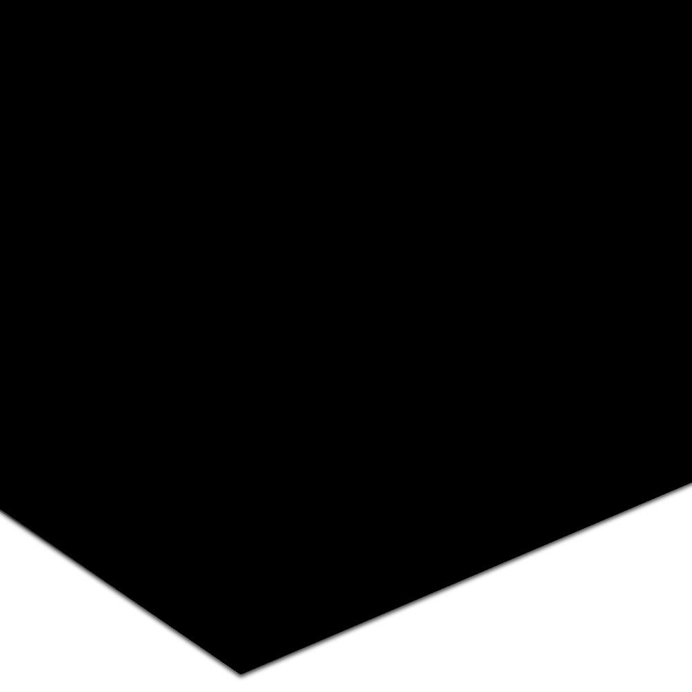 Burke Endura SRT 36 x 36 Skate/Spike Resistant Solid Black Rubber Flooring