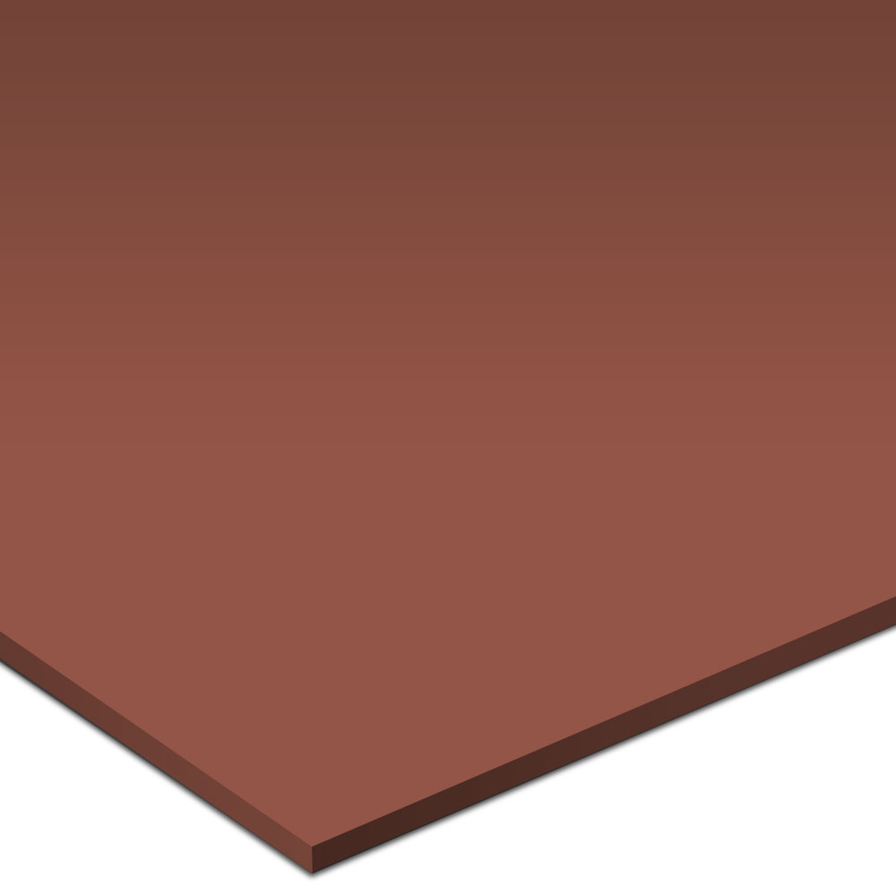 Burke Solid Color Rouleau Round 20 x 20 Vulcanized Rubber Nutmeg Rubber Flooring