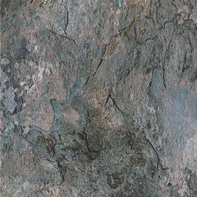 Congoleum DuraCeramic 16 x 16 DuraCeramic Sierra Slate Blue Slate Vinyl Flooring