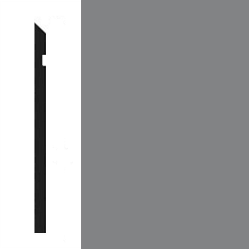 Johnsonite Millwork Reveal Wall Base 6 Pewter 38 Vinyl Flooring