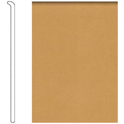 Forbo 4 Inch Straight Toe Base Barley Vinyl Flooring