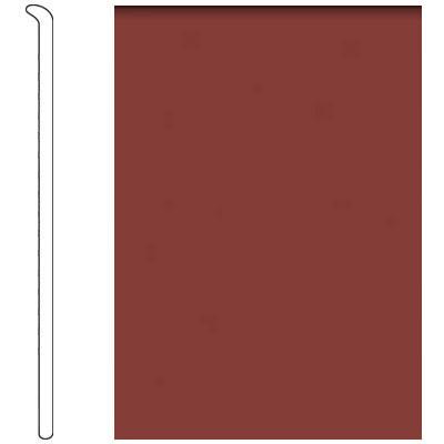 Forbo 4 Inch Straight Toe Base Cinnamon Vinyl Flooring