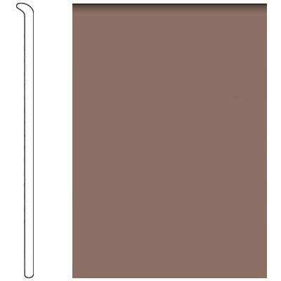 Forbo 4 Inch Straight Toe Base Latte Vinyl Flooring