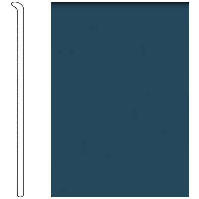 Forbo 4 Inch Straight Toe Base Midnight Blue Vinyl Flooring