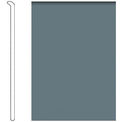 Forbo 4 Inch Straight Toe Base Steel Grey Vinyl Flooring