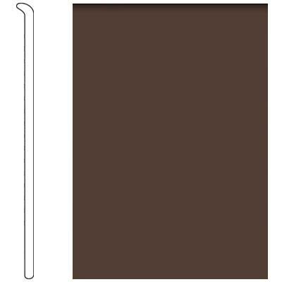 Forbo 4 Inch Straight Toe Base Tobacco Leaf Vinyl Flooring