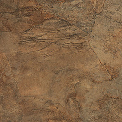 Nafco PermaStone Indian Slate 16 x 16 GroutFit Sunset Gold Vinyl Flooring