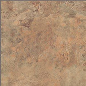 Nafco PermaStone Bombay GroutFil Golden Rust Vinyl Flooring