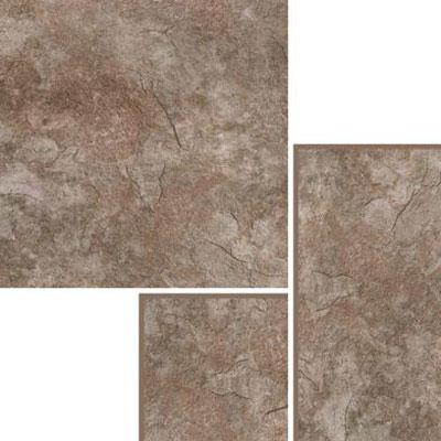Nafco PermaStone Modular Natural Slate Flint Vinyl Flooring
