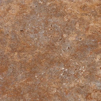 Nafco Tibur Stone 12 x 12 Groutless Red Vinyl Flooring
