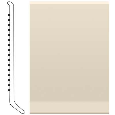 Roppe 2.5 Inch 1/8 Vinyl Cove Base Bisque Vinyl Flooring