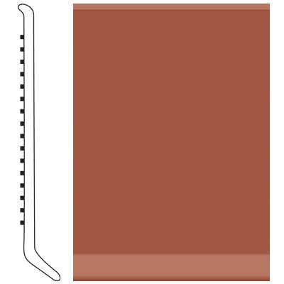 Roppe 6 Inch 0.080 Vinyl Cove Base Brick Vinyl Flooring