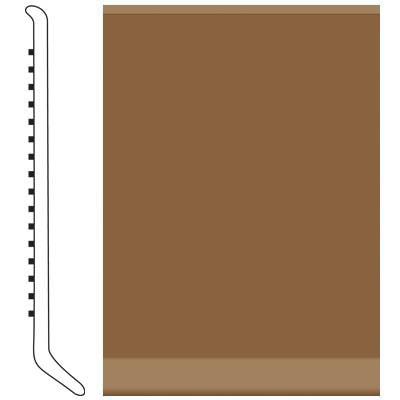Roppe 4 Inch 1/8 Vinyl Cove Base Bronze Vinyl Flooring