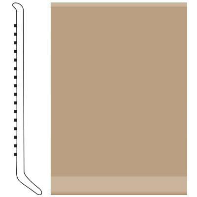 Roppe 6 Inch 0.080 Vinyl Cove Base Buckskin Vinyl Flooring
