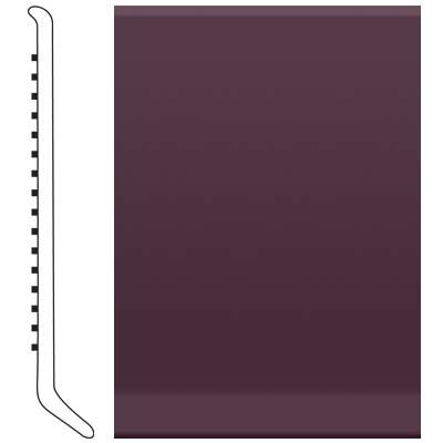 Roppe 2.5 Inch 1/8 Vinyl Cove Base Burgundy Vinyl Flooring