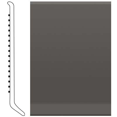 Roppe 6 Inch 0.080 Vinyl Cove Base Burnt Umber Vinyl Flooring