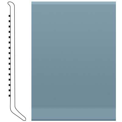Roppe 4 Inch 1/8 Vinyl Cove Base Colonial Blue Vinyl Flooring