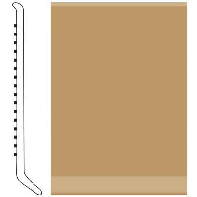 Roppe 4 Inch 1/8 Vinyl Cove Base Flax Vinyl Flooring