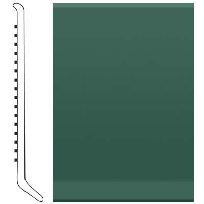 Roppe 6 Inch 1/8 Vinyl Cove Base Forest Green Vinyl Flooring