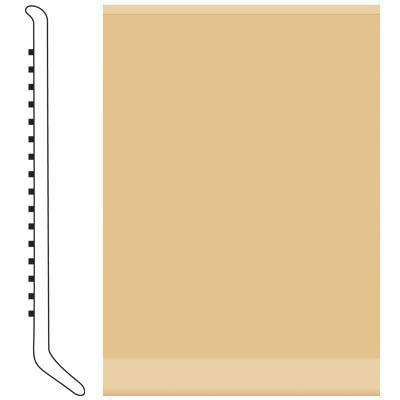 Roppe 2.5 Inch 0.080 Vinyl Cove Base Harvest Yellow Vinyl Flooring