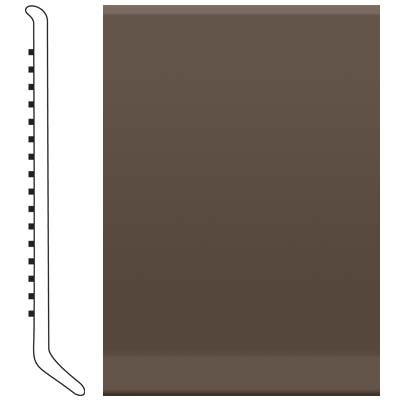 Roppe 2.5 Inch 1/8 Vinyl Cove Base Light Brown Vinyl Flooring