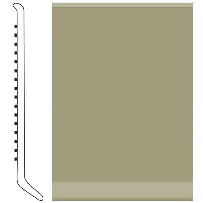 Roppe 2.5 Inch 0.080 Vinyl Cove Base Moss Vinyl Flooring