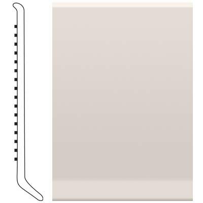Roppe 2.5 Inch 1/8 Vinyl Cove Base Natural Vinyl Flooring