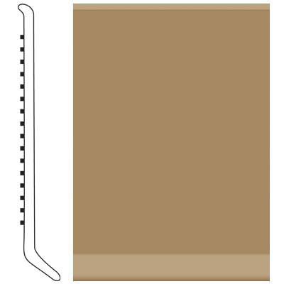 Roppe 2.5 Inch 0.080 Vinyl Cove Base Sahara Vinyl Flooring