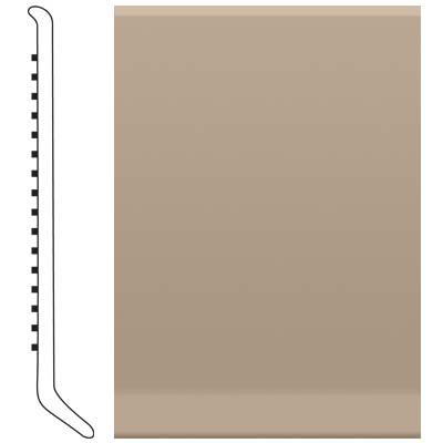 Roppe 2.5 Inch 0.080 Vinyl Cove Base Sand Stone Vinyl Flooring