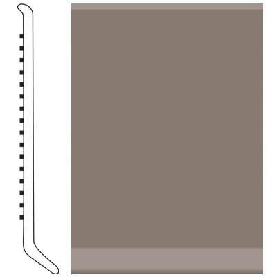 Roppe 6 Inch 1/8 Vinyl Cove Base Taupe Vinyl Flooring