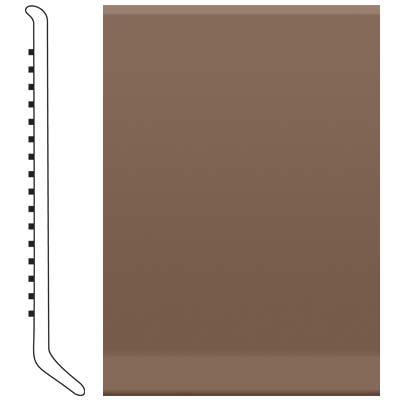 Roppe 6 Inch 0.080 Vinyl Cove Base Toffee Vinyl Flooring