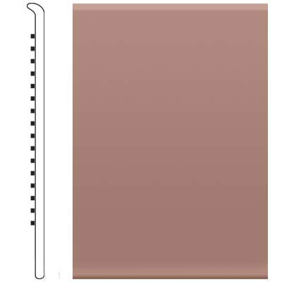 Roppe 2.5 Inch 1/8 Vinyl No Toe Base Golden Honey Vinyl Flooring