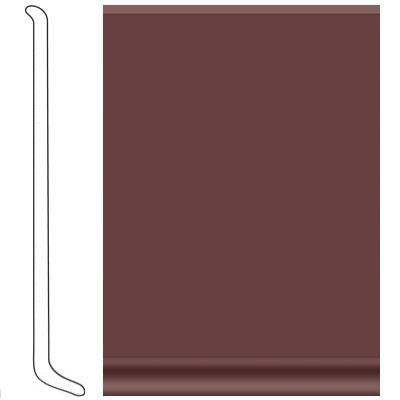 VPI Corp. Cove Base Vinyl 080 Raisin Vinyl Flooring
