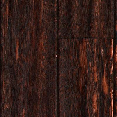 Ark Floors Artistic Distressed Engineered 4 3/4 Angelim Black Tulip Hardwood Flooring