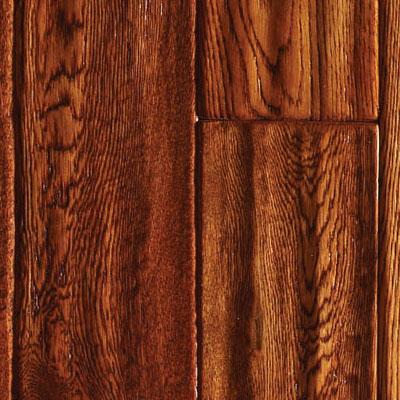 Ark Floors Artistic Distressed Engineered 4 3/4 Oak Antique Hardwood Flooring