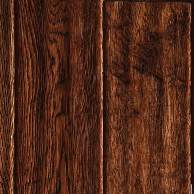 Ark Floors Artistic Distressed Engineered 4 3/4 Oak Tobacco Hardwood Flooring