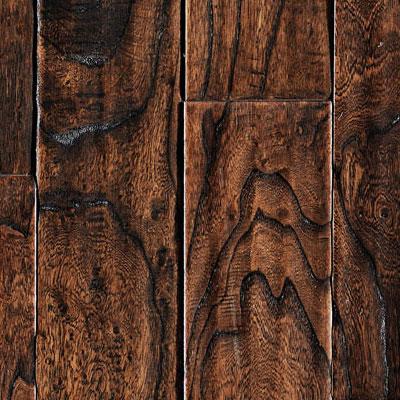 Ark Floors Artistic Distressed Engineered 5 1/2 Inch Wild Hickory Mocha Hardwood Flooring