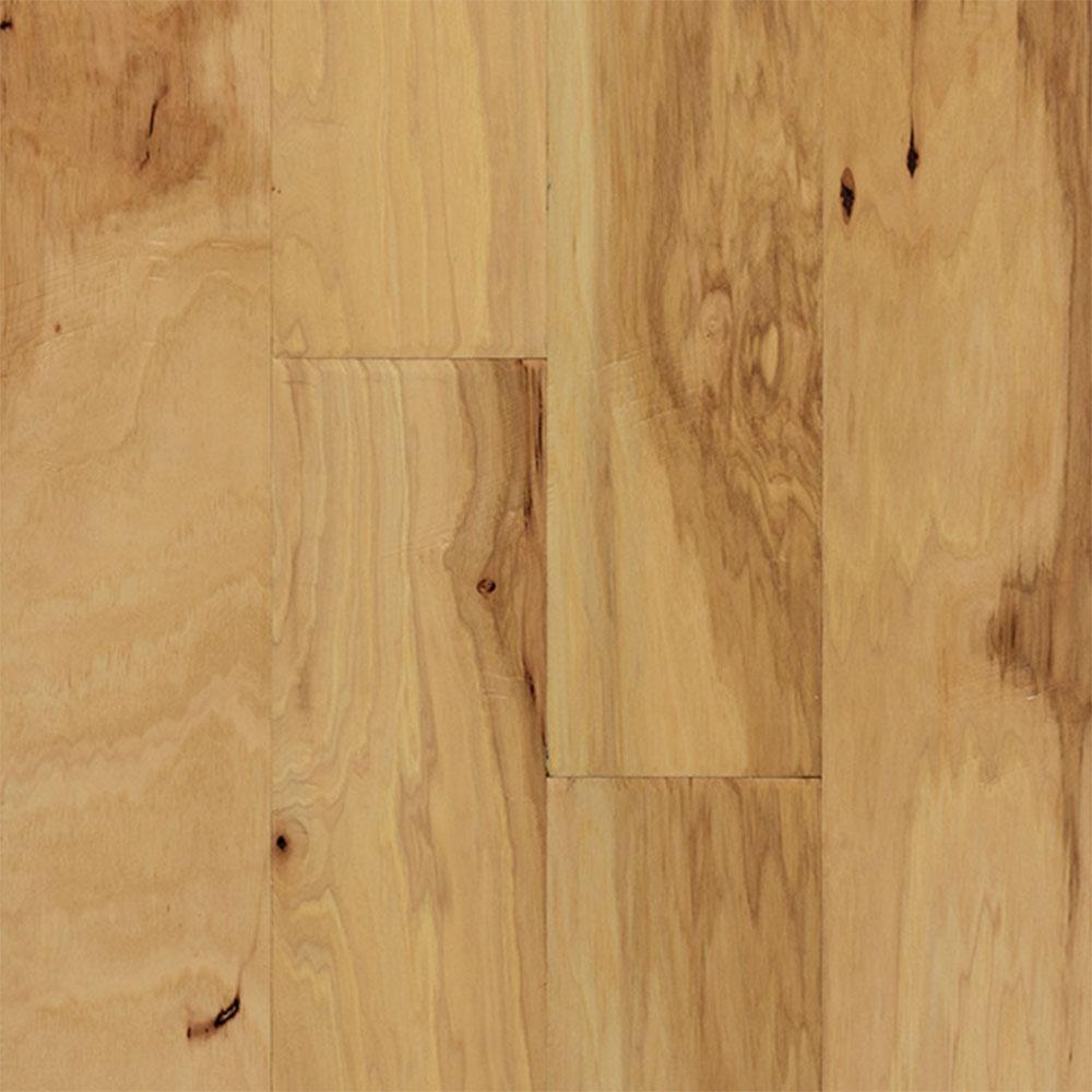 Ark Floors Artistic Distressed Engineered 5 Hickory Natural Hardwood Flooring