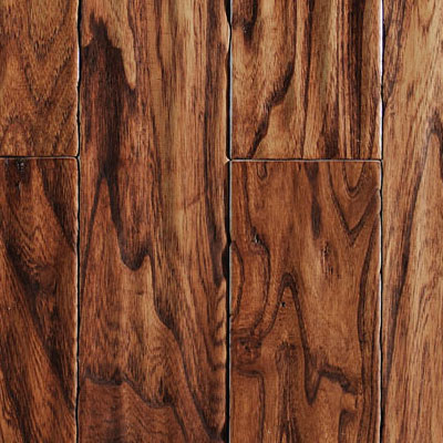 Ark Floors Artistic Distressed Engineered 5 Hickory Spice Hardwood Flooring
